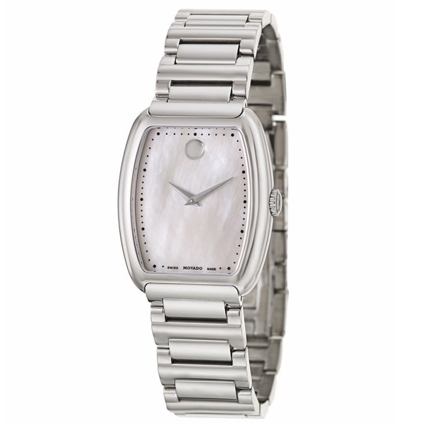 Movado 0606547 Concerto Swiss Women's Quartz Watch(Silver)