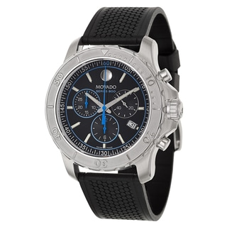 Movado Men's 'Series 800' Stainless Steel Chronograph Watch