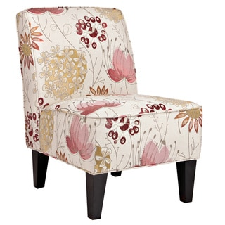 angelo:HOME Dover Spring Parisian Red Flower Armless Chair