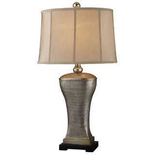Dimond Lighting 1-light 150-watt Table Lamp in Silver Leaf Finish
