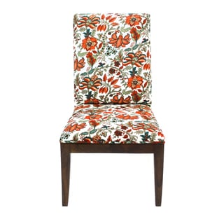 Veronica Floral Accent Chair (India)