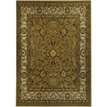 Floral Garden Traditional Sage Green Area Rug (4'10 x 6'10)