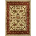 Floral Garden Traditional Ivory Area Rug (8'2 x 9'10)