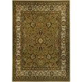 "Floral Garden Traditional Sage Green 8'2"" x 9'10"" Area Rug Ephesus Collection"