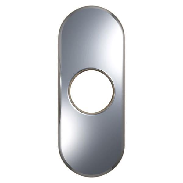 VIGO 4-inch Chrome Bathroom Deck Plate