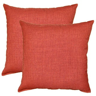 Gridlock Bittersweet 17-in Throw Pillows (Set of 2)