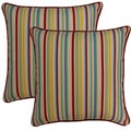 Dockside Cardinal 17-in Throw Pillows (Set of 2)