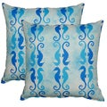 Side by Side Bliss 17-in Throw Pillows (Set of 2)