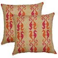 Side by Side Mimosa 17-in Throw Pillows (Set of 2)