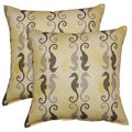 Side by Side Pebble 17-in Throw Pillows (Set of 2)