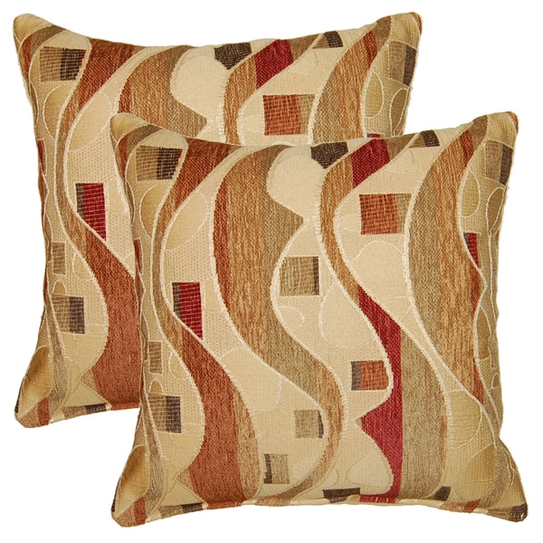 Jedi Red 17-in Throw Pillows (Set of 2)