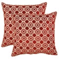 Ramses Cardinal 17-in Throw Pillows (Set of 2)