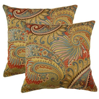 Mix It Up Multi 17-in Throw Pillows (Set of 2)