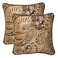 Mix It Up Smoke 17-in Throw Pillows (Set of 2)