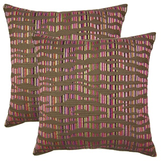Islands Multi 19-in Throw Pillows (Set of 2)