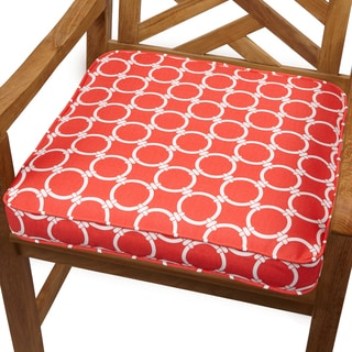 Links Coral 19-inch Indoor/ Outdoor Corded Chair Cushion