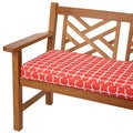 Links Coral 48-inch Indoor/ Outdoor Corded Bench Cushion