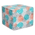 Brooklyn Tropic Bloom 22-inch Square Indoor/ Outdoor Ottoman