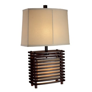 Dimond Lighting 2-Light Espresso Wood Table Lamp
