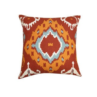 Arizona Ikat Throw Pillow (India)
