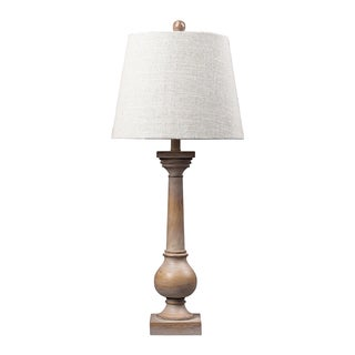 Dimond Lighting Bleached Wood 1-Light Table Lamp
