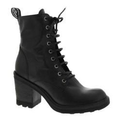 Women's Bronx Here N Now Black Nappa Leather