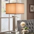 Inspire Q Kohala 3-way Crystal Mirror Base 1-light Accent Table Lamp