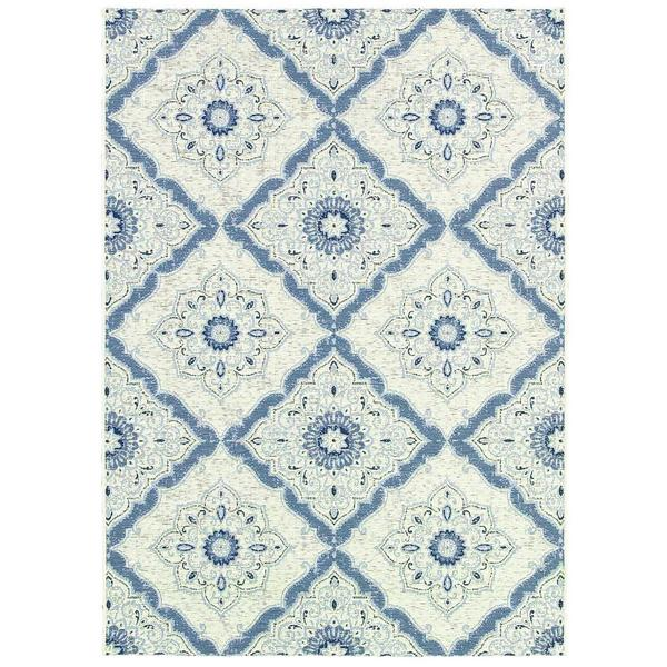 """Dolce Brindisi/Ivory-Confederate Grey 8'1"""" X 11'2"""" Rug - 8'1 x 11'2 11934359"""