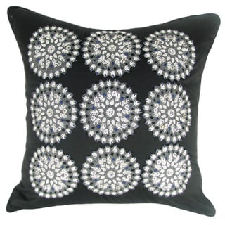 Black Felt Pillow