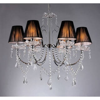 6-way Crystal Chandelier