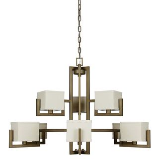 Akimbo Chandelier Burnished Brass