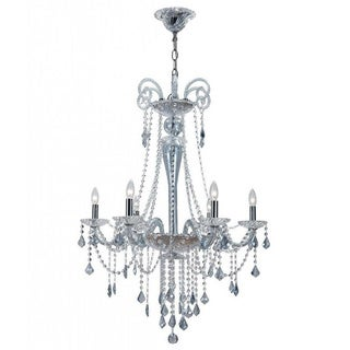 Simone 6-light Chrome Chandelier