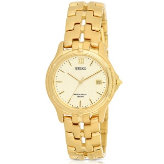 Seiko Men's Goldtone Watch