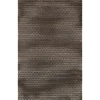 Hand Woven Rhythm Earth Wool Rug (3'6 x 5'6)