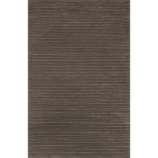 Hand Woven Rhythm Earth Wool Rug (5'0 x 7'6)