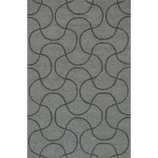 Hand Tufted Benson Grey Rug (7'6