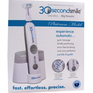 HydraBrush 30-Second-Smile Automatic Toothbrush