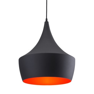 Matte Black Copper Ceiling Lamp