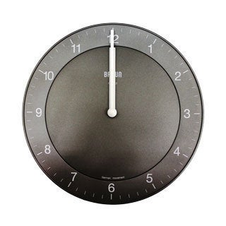 Easy Read Classic Black Quartz Wall Clock