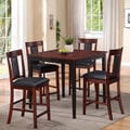 Counter Height Five Piece Dining Set