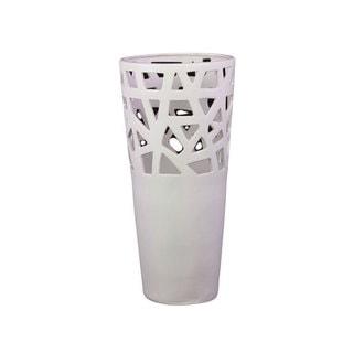 White Contemporary Ceramic Vase