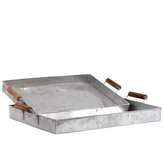 Metal Tray Set of Two