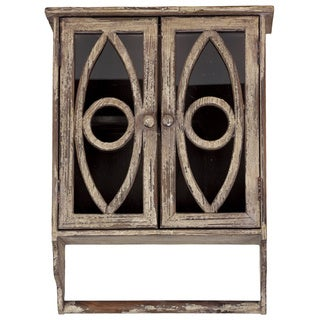 Wood 2-door Wall Cabinet