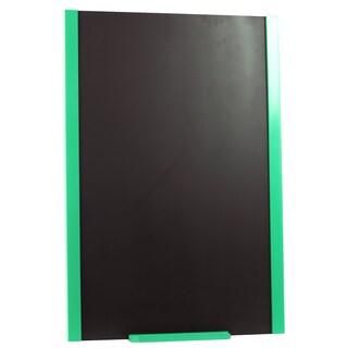 Green Wooden Frame Blackboard