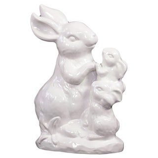 White Ceramic Rabbit