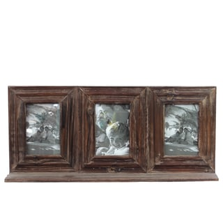 Weathered Wooden Picture Frame