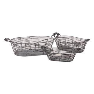 Metal Basket (Set of 3)