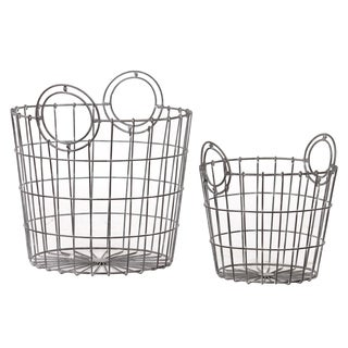 Metal Basket (Set of 2)