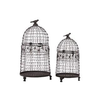 Metal Bird Cage (Set of 2)