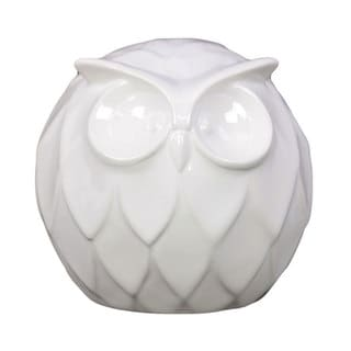 Ceramic Owl Decoration